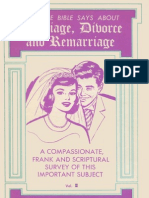 Marriage Divorce and Remarriage - Volume II - Gordon Lindsay