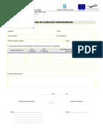 Informe avaliacion individualizado 2 avaliación