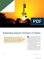 Expanding telecom horizons in Ghana