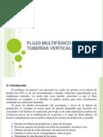 III. FLUJO MULTIFÁSICO EN TUBERÍAS VERTICALES