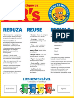 Reduza Reuse Recicle