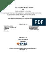 Lg Ratio Analysis Finance