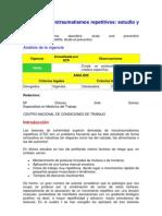 Ntp 311 Microtraumatismos Repetitivos Estudio y Prevencion