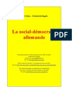 Social-Democratie Allemande - Marx Engels