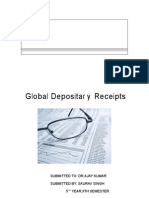 33271415 GDR Global Depository Receipts