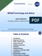 T05 Heidecker MRAM Technology
