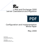 Lotus CcMail and Exchange 2000 Server Coexistence and Migration