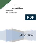 Cubiertas metálicas y otros materiales