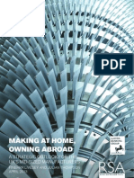 Making at home, owning abroad