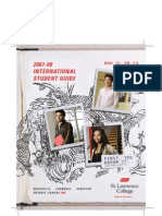 St Lawrence International Student Guide
