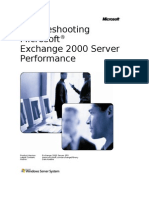Troubleshooting Exchange 2000 Performance