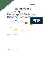 Understanding and Deploying Exchange 2000 Active Directory Connector