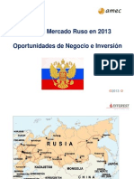 Conferencia Rusia Inverest-Amec 2013