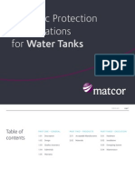 Cp Specifications Watertank