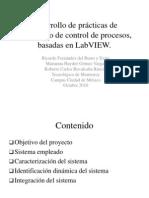 Desarrollo de Practicas de Laboratorio de Control de Procesos Basadas en Labview