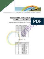 Corrector MODELO B - Profesor de Formación Vial - Primera evaluación (25.04.2013)
