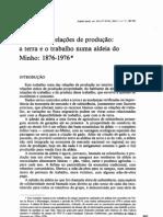 ^patricia goldey migração e relações de produção a terra e otrabalho numa aldeia do minho