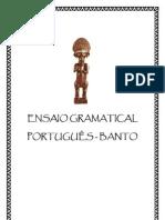 Ensaio Gramatical - Língua Banto