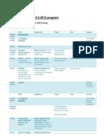 Seminar program Nordic Sustainable Campus Network