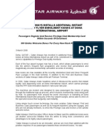 QATARAIRWAYSINSTALLSADDITIONALINSTANTFREQUENTFLYERENROLMENTKIOSKSATDOHAINTERNATIONALAIRPORT-