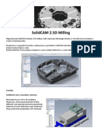 SolidCAM 2 5D Milling