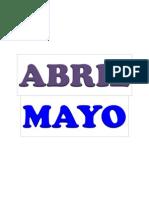 abril,mayo