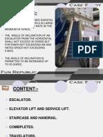 Escalator case study