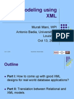 Data Modeling Using XML