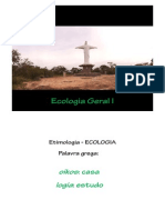 Aula 1 - Importância da ecologia