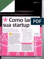 Startup_Como Lançar Uma - Reportagem