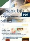 Strategic Branding of Bank BJB