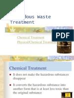 14. Hazardous Waste Treatment