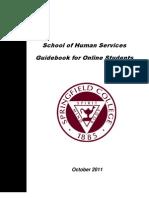 Guidebook for Online Students FINAL October 2011