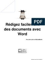 417000 Redigez Facilement Des Documents Avec Word