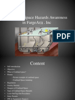 Confined Space Hazards Awareness