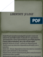 1. LIBERTATE  ŞI LEGE