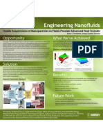 Engineering Nanofluids