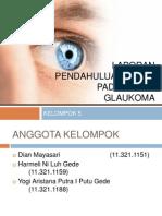 Laporan Pendahuluan Askep Pada Pasien Glaukoma