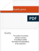 Quality Gurus