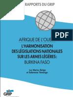 Afrique de l Ouest l Harmonisation Des Legislations