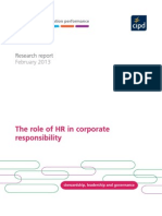CIPD HR & Corporate Responsibility