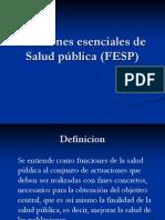 Funciones Esenciales de Salud Publica (FESP)