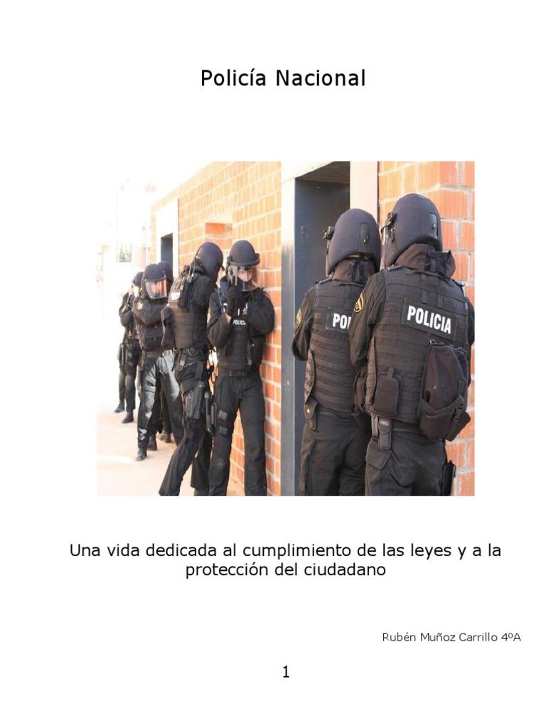 Polic a nacional for Ministerio del interior policia nacional