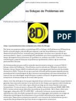 Qualidadeonline - Metodologia 8 D ou Solução de Problemas em 8 Disciplinas