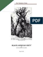 Black African Unity