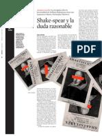 Shakespeare Identidad Resuelta