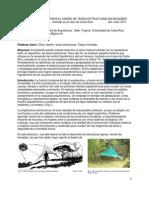 Tensoestructuras en Regiones Tropicales Humedas