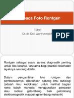 Membaca Foto Rontgen