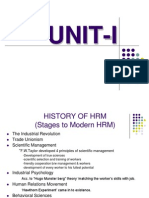 24255173 History of Hrm Stages to Modern Hrm