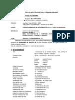 Informe N° 01. Ampliacion de plazo